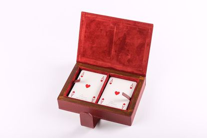 Picture of Hassler Game Cards and Box