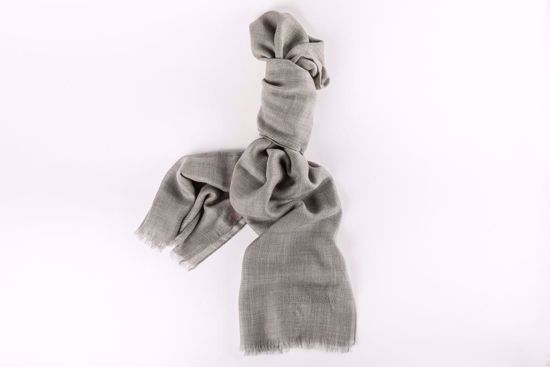 Picture of Hassler Grey Cashmere Pashmina